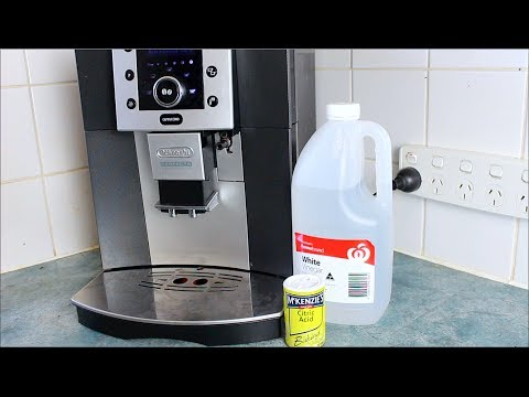 Homemade Coffee Descaler - How to video