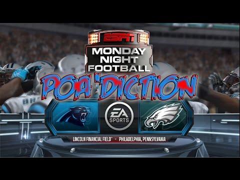 Philadelphia Eagles vs Carolina Panthers - MNF - Madden NFL 15