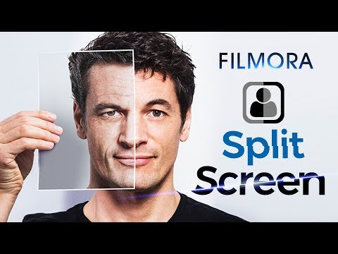 How To Split Screen Video With Filmora | Play Multiple Video On One Screen