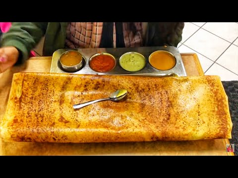 #AIEVlogs : Cost of DOSA in CANADA (And is it good?😱)