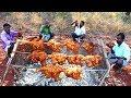 Download  20KG Full Chicken Tandoori/Grilled Chicken/Whole Chicken Roast Recipe/food fun village MP3,3GP,MP4