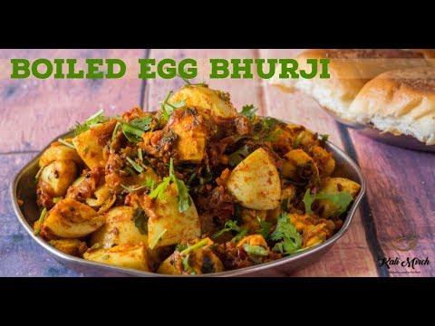 Boiled Egg Bhurji-Anda Bhaaji-Egg Sabzi Dry-Kalimirchbysmita-Ep292
