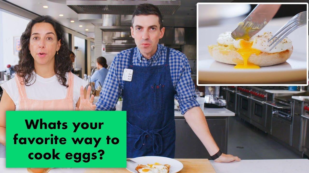 Pro Chefs Make Their Favorite Egg Recipes | Test Kitchen Talks | Bon Appétit