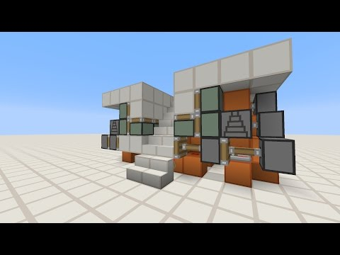 Minecraft - 2 Wide Hidden Continuable Staircase 3.0 [Tutorial]