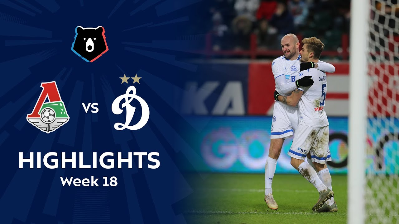 Highlights Lokomotiv vs Dynamo (1-2) | RPL 2019/20