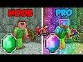 Minecraft NOOB Vs PRO EMERALD BATTLE In Minecraft