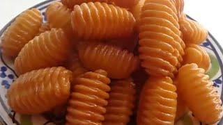 👌👌😍 حلويات المشط اللذيذة تذووب بالفم 😘ب٣مكونات فقط 👌 إقتصااادية وسهلة التحضير.