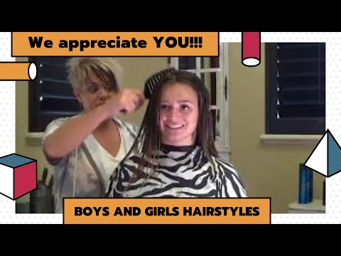 Comb Wet Hairstyles Using Wet Pro Epic Dry Brush (RaDona's Hair Tips)