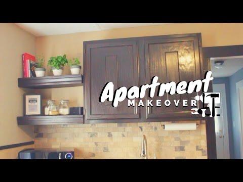 Free Floating Shelves • Apartment Makeover