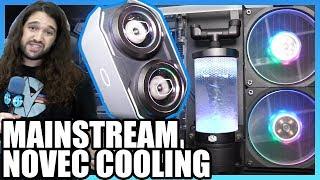 Cooler Master Redundant AIO, Vapor Chamber Air Cooler, & Novec Cooler