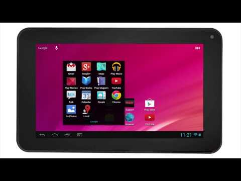 RCA Tablets | Screenshots & website double tapping Font size setting (Android 4 1)