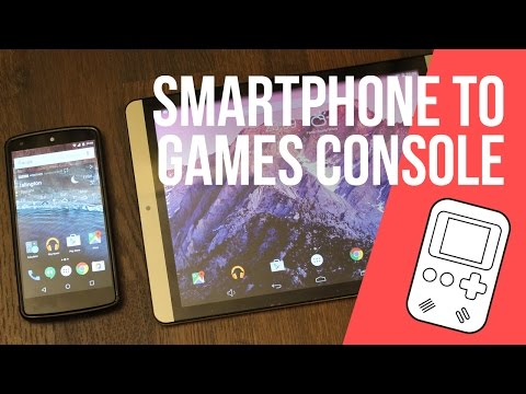 How to turn your smartphone or tablet into a games console!