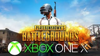 PLAYING PUBG ON XBOX ONE: PLAYERUNKNOWN