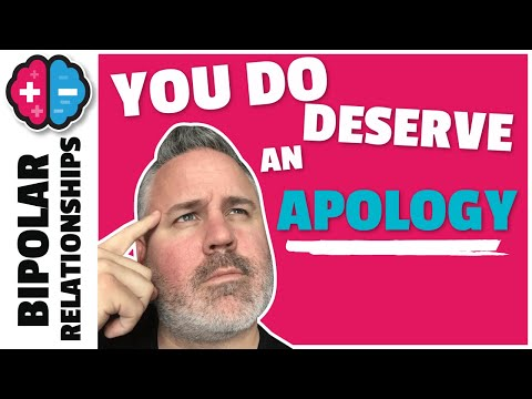 3 reasons you need apology | Bipolar Relationships
