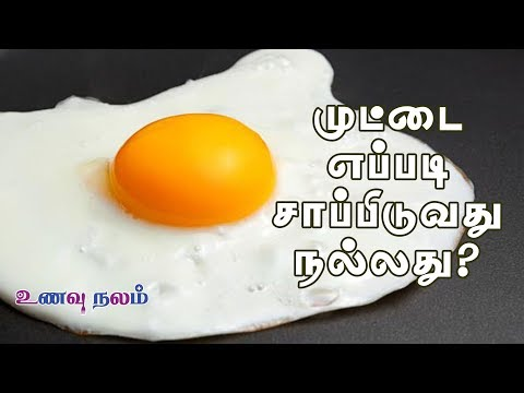 முட்டை எப்படி சாப்பிடுவது நல்லது? |  How to eat Eggs?