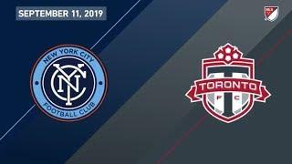 MATCH HIGHLIGHTS   Toronto FC at New York City FC - September 11, 2019