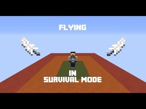 Minecraft Flying in Survival Mode w/ CovertAssasin