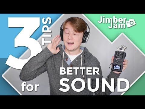 3 Tips for Better Sound in YouTube Videos