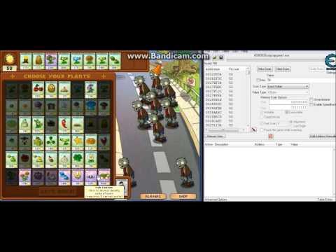 9999 Sun Plants vs Zombies (Cheat Engine 6.2)