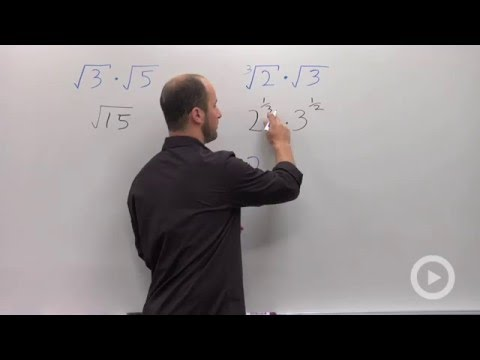 Multiplying Radicals of Different Roots(HD)