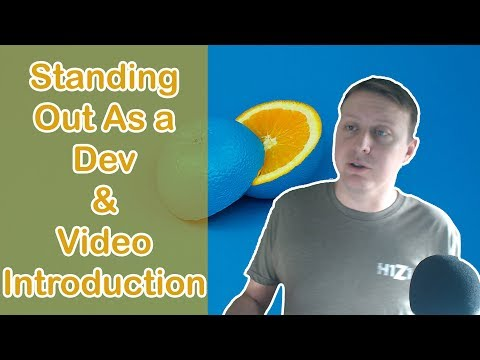 Standing Out As A Developer and Video Introduction | Ask a Dev