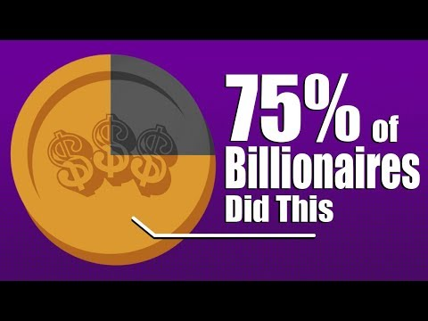 75% Of Self-Made Billionaires Have This In Common