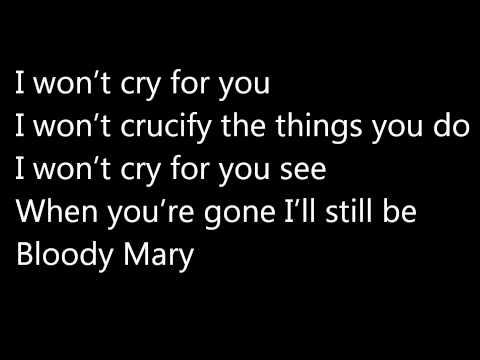 Lady Gaga - Bloody Mary (lyrics!) HQ
