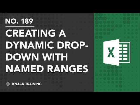 Creating Drop-Downs with Tables and Named Ranges | Everyday Office 079