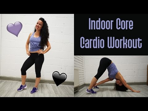 Indoor Core Concentrated Cardio Workout For Women- NO CRUNCHES!