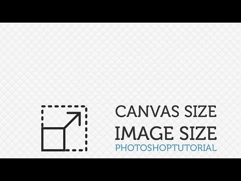 #4 - Canvas Size vs image size - Photoshop for beginners  (PSD Box)