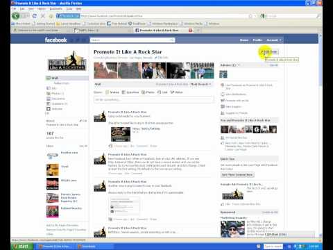 Save your business name for your facebook fan page.