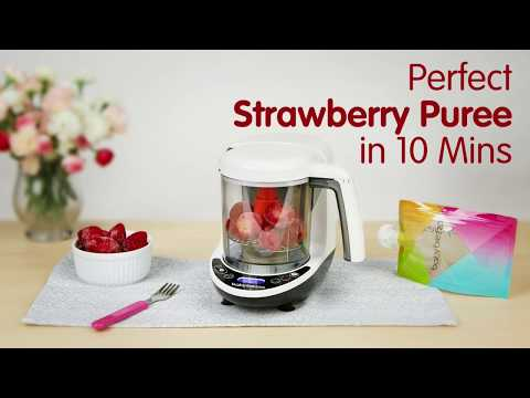 Perfect Strawberry Puree in 10 Minutes!