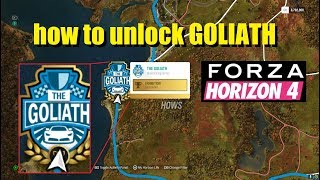 how to unlock goliath in forza horizon 4 Videos - 9tube tv