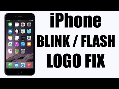 HOW TO FIX - iPhone Blinking logo on/off | iPhone 4, 4s, 5, 5c, 5s, 6, 6 plus