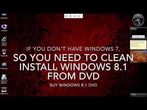 Install Windows 8 From Windows Vista on Sony Vaio CS11Z Part 1 of 2 (Prep)