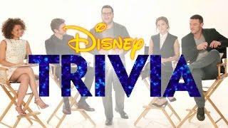 Beauty and the Beast Cast Plays Disney Trivia   Oh My Disney