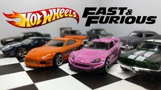 Hot Wheels Fast and Furious Series Unboxing and Review!