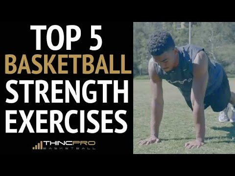 How To: Top 5 Explosive Basketball Strength Exercises For Basketball Players At Home!