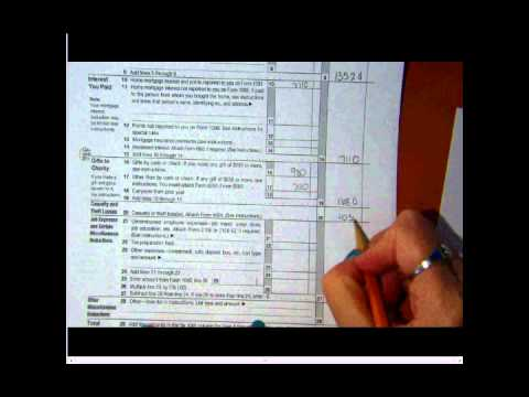 Financial Algebra: Taxes- Form 1040 and Schedule A  11-12-13