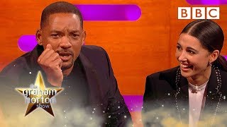 Download Will Smith would jump out of a helicopter again to avoid stand up 😱 |The Graham Norton Show - BBC Video