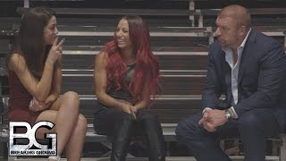 WWE Network: Triple H talks making history with Bayley & Sasha Banks: Breaking Ground, Dec. 21, 2015
