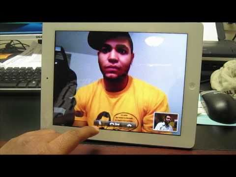 FaceTime Demo on iPad 2