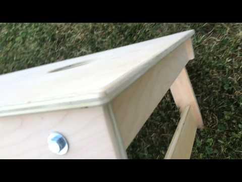Regulation Cornhole Boards by Martin's Woodworking  - Pocket hole construction - Kreg Jig