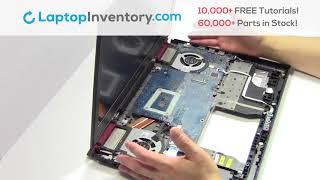 Dell Inspiron 7567 Fan Replacement - Heatsink Motherboard