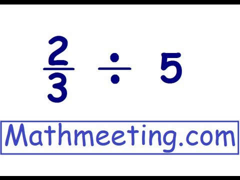 Dividing Fractions 2