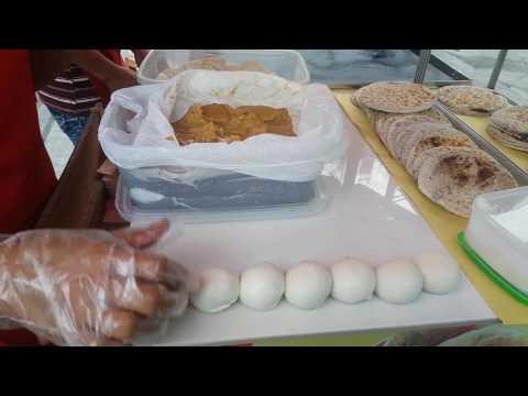 Manila , Philippines Street food - Piaya