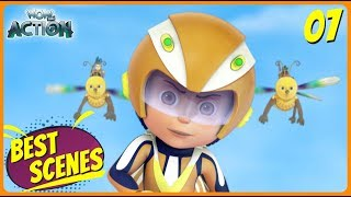 BEST SCENES of VIR THE ROBOT BOY | New Episode | Animated Series For Kids | #07 | WowKidz Action