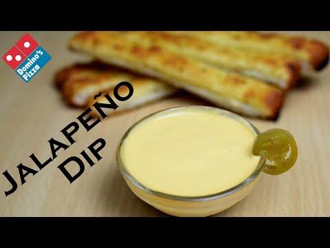 Make Jalapeno cheesy Dip at home like Domino's | Jalapeño Cheese Sauce | Simply Yummylicious