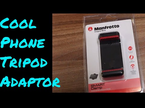 Tripod Adaptor for Mobile Phone - Monfrotto Clamp Unboxing