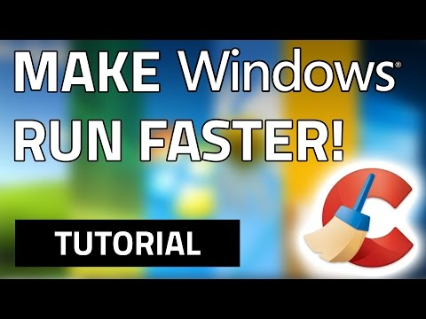 How To Make Your Computer Run Faster For Free! Windows XP/Vista/7/8/8.1/10